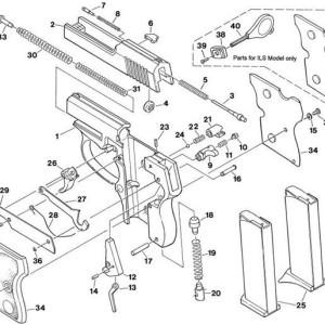 25NAA & 32ACP Parts