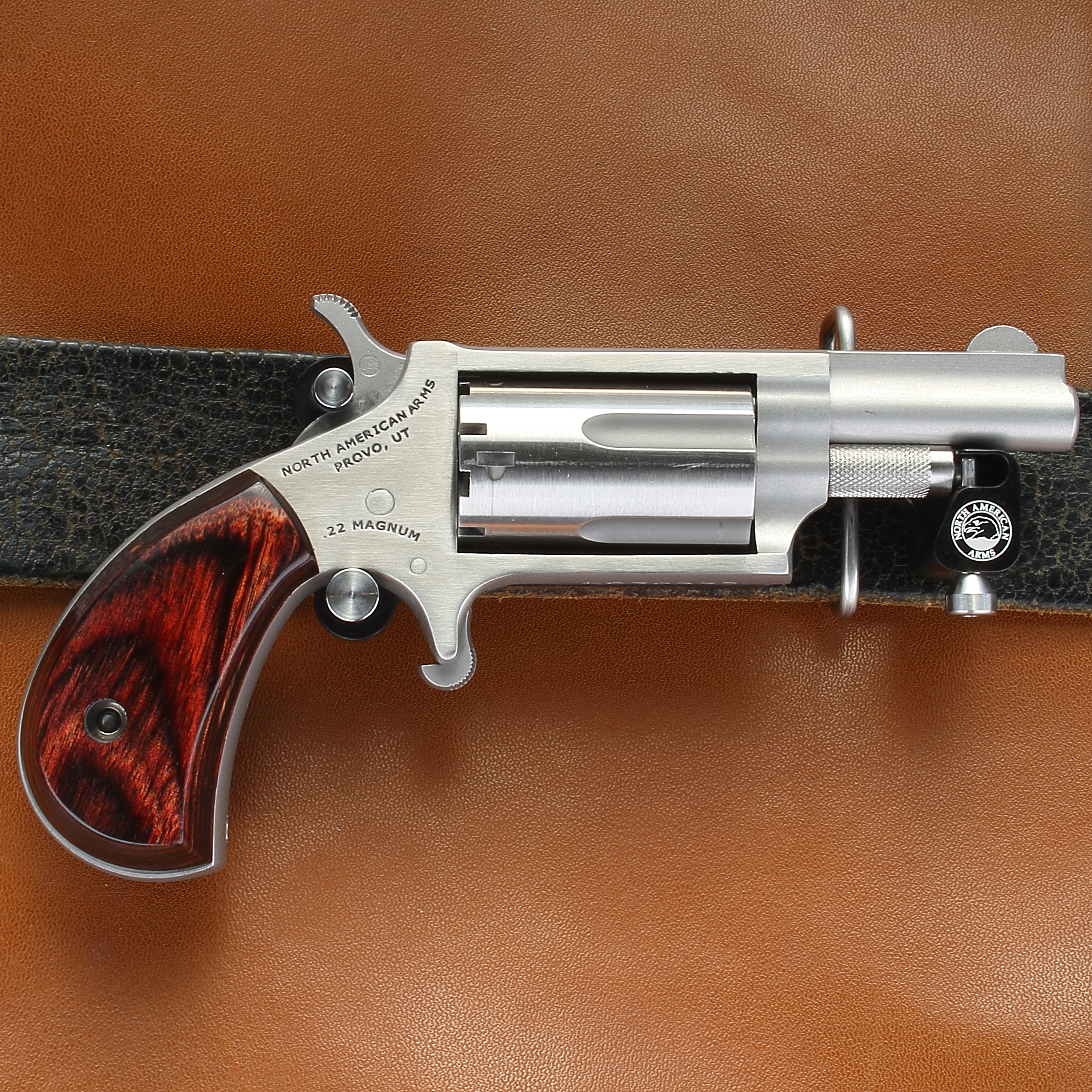 North American Arms BBS-M Skeleton Belt Buckle Holster for Standard Magnum